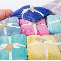 100% Polycotton Fabric Flannel Blanket Dyed Print Bale Packing / Blut Packing Manufactures