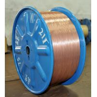 China 0.36g/kg Bronze Coated 1.7% Sn 98.3% Cu Steel Wire Ropes for Aviation Smooth Coating 1.2mm on sale