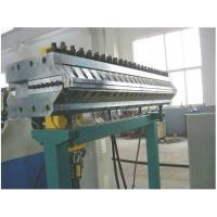 PVC Toilet Bath Foam Board Machine , PVC Crust Foam Board Production Line