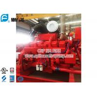 Cummins Brand Fire Pump Engine Used In Fire Water Pump Set , Highly Effective Manufactures