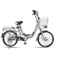20 Inches Battery Powered Bicycles Sliver Commuter Electric Bike 48V8Ah Manufactures