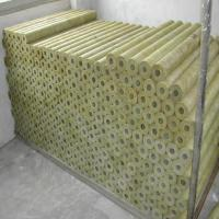 Fireproof Rock Wool Pipe/ Mineral Wool Tube Manufactures