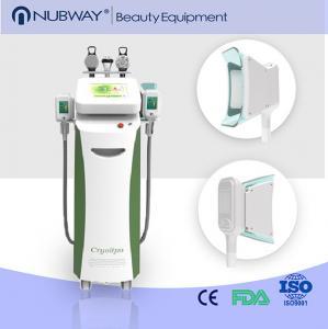 5 Cryo Handles RF cavitation Cryolipolysis Fat Freezing Machine For Sale Manufactures