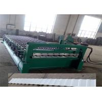 China Hydraulic Wall Panel Roll Forming Machine / Tile Forming Machine on sale