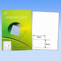 Adhesive integrated labels, used as invoice labels, 70 to 90g vellum paper, customized size welcomed Manufactures
