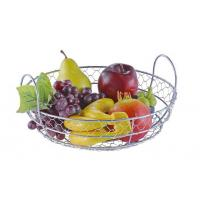 Food Grade Metal Mesh Wire Fruit Basket Stainless Steel Material For Home
