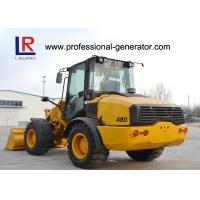 Full hydraulic Wheel Loader / Heavy Construction Machinery 2000kg Rated Load Manufactures