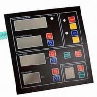 Metal Dome Tactile Membrane Switch with Graphic Overlays Manufactures