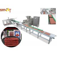 Auto Traying Pet Food Extruder Make Organic Dog Beef Sticks Treats And Pet Chews Manufactures