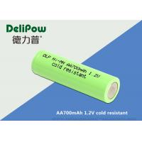 China 700mah Low Temperature Rechargeable Batteries With Long Cycle Life on sale
