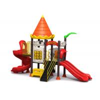 Quality Nature Style Preschool Outdoor Playground Equipment For Business Quarter TQ-ZR1114 for sale
