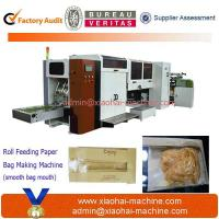 China S-300 Flat Bottom Paper Bag Making Machine With PP window on sale