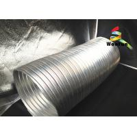 Quality All Sizes Multi Function Semi Rigid Aluminum Air Duct / Flexible Air Intake Duct for sale