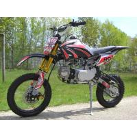 China 125cc Middle Cdi Electric / Kick Start Street Legal Dirt Bike Air Cooled on sale