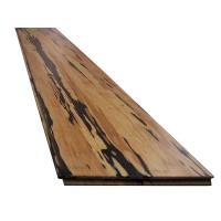 Indoor Tiger Carbonized Strand Woven Bamboo Flooring Manufactures