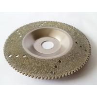Wholesale 4 Inch Electroplated Diamond Cutting Blades For Glass / Marble / Granite Manufactures