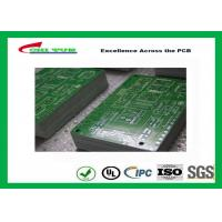 Computer Quick Turn PCB Fabrication 0.35mm Min Hole Lead Free HASL Manufactures