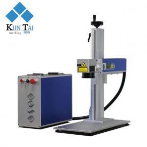 Desktop laser marking machine,30w fiber laser engraving machine for metal/stainless steel Manufactures