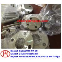 ASTM A182 F316 SO flange Manufactures