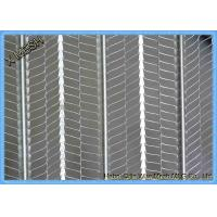 2000mm Length Expanded Galvanized Metal Rib Lath Heavy Duty Metal Mesh Manufactures