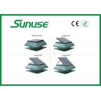 Professional whole house rooftop Solar Powered Ventilation Fan 15 Watt Manufactures