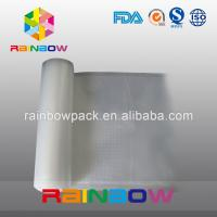 FDA Embossed Food Vacuum Seal Bags Custom Shape With Texture / Channels Manufactures