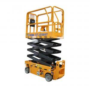 Aerial Work Platform Telescopic Boom Crane 6m Scissor Lift GTJZ0607 Manufactures