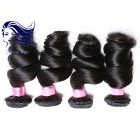 China Virgin Curly Human Hair Extensions For Black WomenLoose Wave on sale