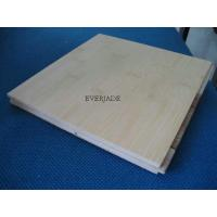 Natural Horizontal Engineered Bamboo Flooring Anti-scratch Finish 3-ply or multiply Manufactures