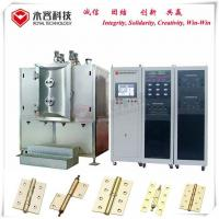 Hinge Thin Film Coating Machine , Pecvd Magnetron Sputtering Equipment Manufactures
