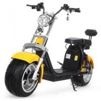 EcoRider 18inch Big Tire 60V 1500w 2 Wheel Electric Harly Scooter With Shock Absorber Manufactures