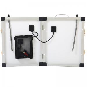 Monocrystalline Foldable Portable Solar Panels 40W 18V High Efficiency Sunpower Cells Manufactures