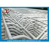 China Powder Coated Galvanized Welded Wire Mesh Fence Panels 2.2m 2.5m on sale