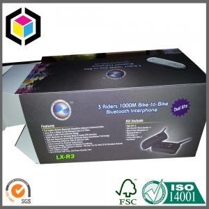 Matte Black Cardboard Packaging Box; CMYK Full Color Litho Print Packaging Box Manufactures