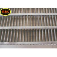 Easy Clean Wedge Wire Filter , Steel Sieve Mesh Sheets High Tensile Manufactures
