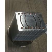 High Precision Copper Pipe Heatsink Aluminum Stacked Fin Heatsink For LED And CPU Manufactures