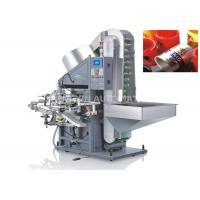 Single Color Automatic Hot Foil Stamping Machine Plastic / Metaltube Printing Manufactures