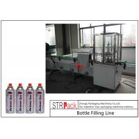 Automatic Gas Cartridge Aerosol Can Filling Machine Line With Water Bath Leakage Tester Manufactures