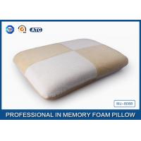 China Cotton Velvet Traditional Visco Elastic Memory Foam Pillow For Pregnancy on sale