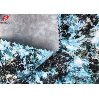 China Wear - Resistant Stretch Polyester Spandex Fabric TPU Coated Waterproof For Garment on sale