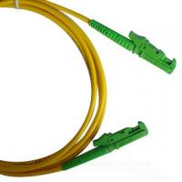 LSZH 3.0mm cable diameter Single-mode low insertion loss E2000 Fiber Optic Patch Cord