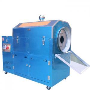 China Electric Heating Cashew Peanut Roasting Machine , Almond Nut Snack Food Processing Equipment on sale