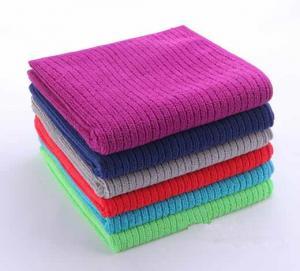China Microfiber Warp Knitted Strip Towel on sale