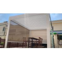 Electric Outdoor Patio Rainproof Screen Components Roller Blind for Outdoor Pergola Manufactures