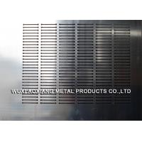 10mm Thickness Perforated SS Sheet / Stainless Steel Profiles By Laser Cutting Manufactures