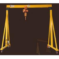 China Indoor Warehouse Portable Gantry Crane Adjustable Electric Driven Anti Swaying on sale