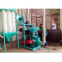 50HZ PP Plastic Pulverizer Machine Abrasion Resistance No Dust Voltage Protection Manufactures