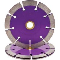 Sintered  3 / 7 Inches Concrete Diamond Blade   Marble Cutting Double Tuck Point Manufactures