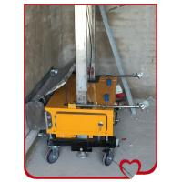 Automatic cement wall plastering machine of nancydream