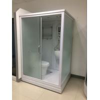 Square Complete Shower Enclosures Shower House With Washroom / Mirror / Toilet Manufactures
